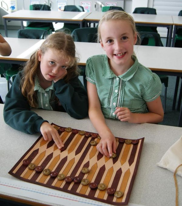 Alnwick children get hands-on Anglo-Saxon education thanks to Peregrini Lindisfarne Project