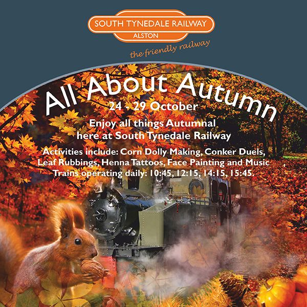 All About Autumn at South Tynedale Railway