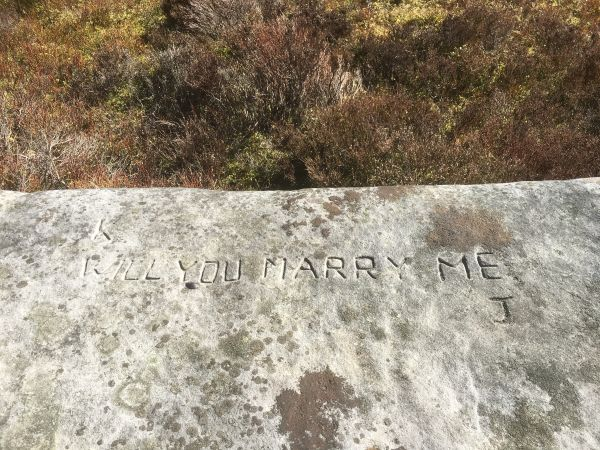Northumberland National Park needs your help to solve a mysterious love story carved in stone!