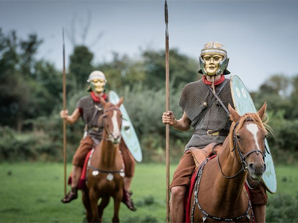 Half-price ticket offer launched in May half term for Hadrian's Cavalry Turma! event