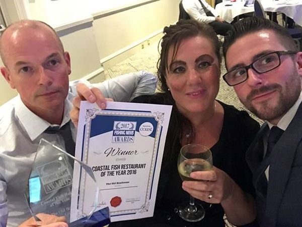 Northumberland restaurant crowned 'Coastal Fish Restaurant of the Year.'