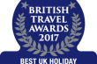 Northumberland wins prestigious British Travel Award