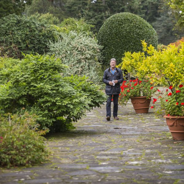 Alan Titchmarsh unveils Secrets of Cragside in Channel 5 series