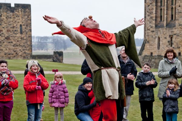 Alnwick Castle off to a flying start on 29 March