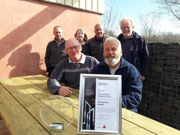 Hauxley building honoured with prestigious award