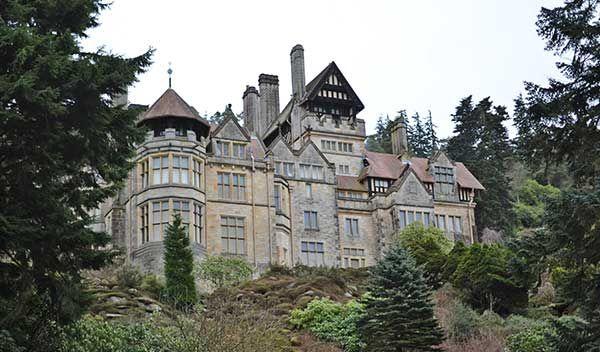 Cragside house, northumberland, named a top uk hidden gem
