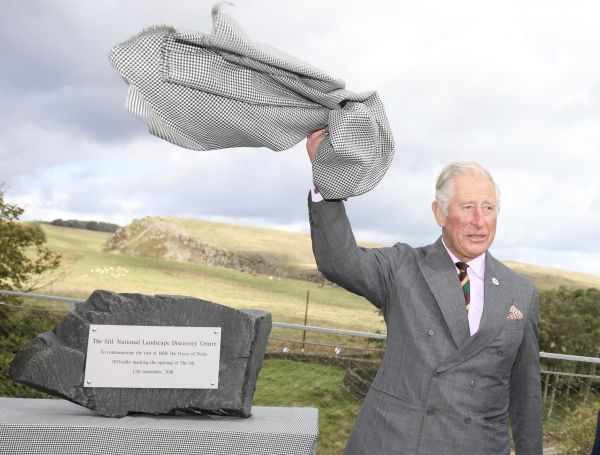 Prince of Wales visits the Sill: National Laqndscape Discovery Centre on Hadrian's Wall