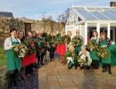 Deck the halls at Battlesteads Christmas Wreath Workshops