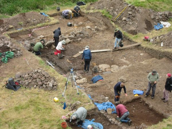 Archaeology volunteers in Coquetdale scoop national award