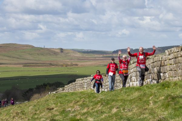 British Heart Foundation Hadrian's Wall Hike 2017
