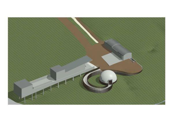 Planning Permission For Kielder Planetarium