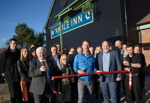 Amble Inn: Multi-million pound Northumberland inn opens creating 35 jobs