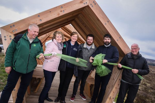 Students' designwork provides shelter for Northumberland visitors