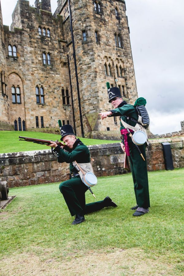Weekend firing spectacular for Alnwick Castle