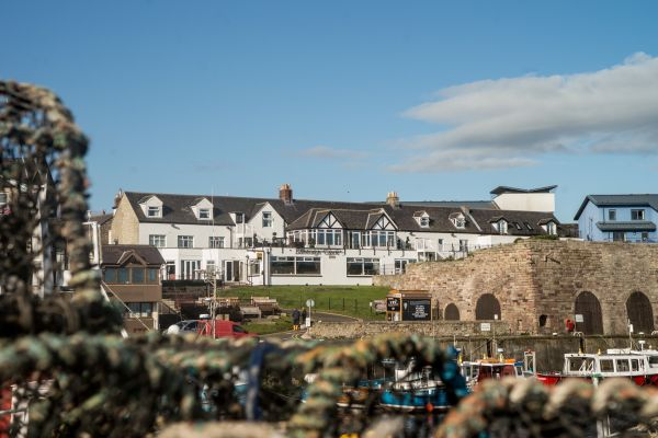 The Bamburgh Castle Inn is in the running for two titles in the national Great British Pub Awards.