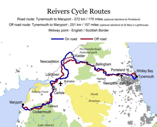 The Reivers Cycle Routes