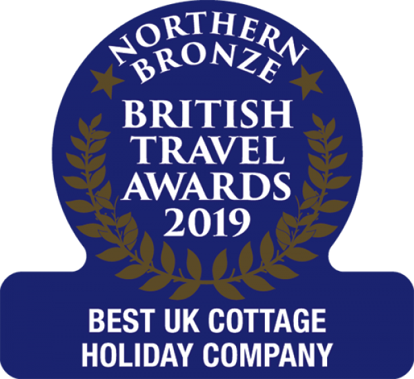 Coquet Cottages delighted to win Bronze for the Best UK Holiday company in the 2019 British Travel Awards.
