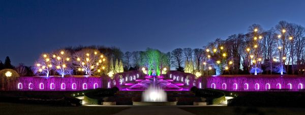 The Christmas Light Show at The Alnwick Garden