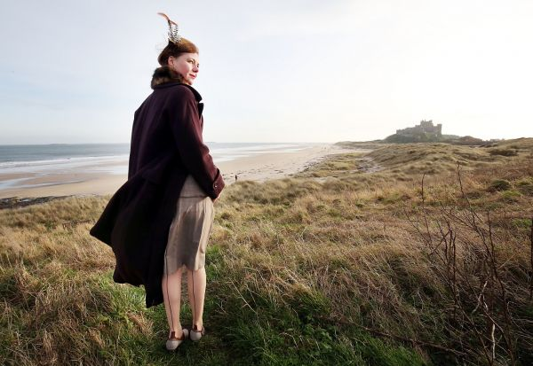 Stepping back to 1940s on wartime walk -	On the trail of Bamburgh's World War Two past