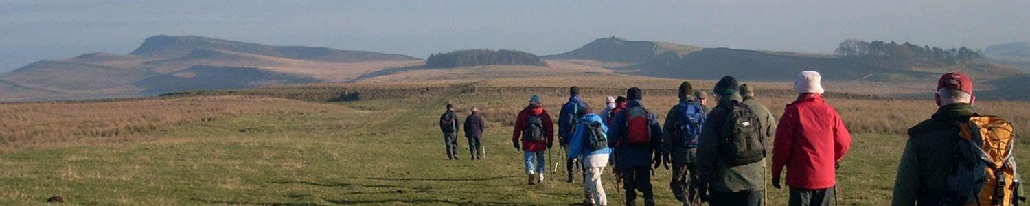 Hadrian's Wall Charity Walk