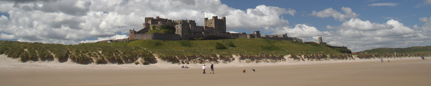 Explore Bamburgh and the coast