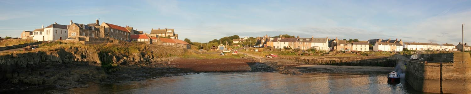 Craster cottages