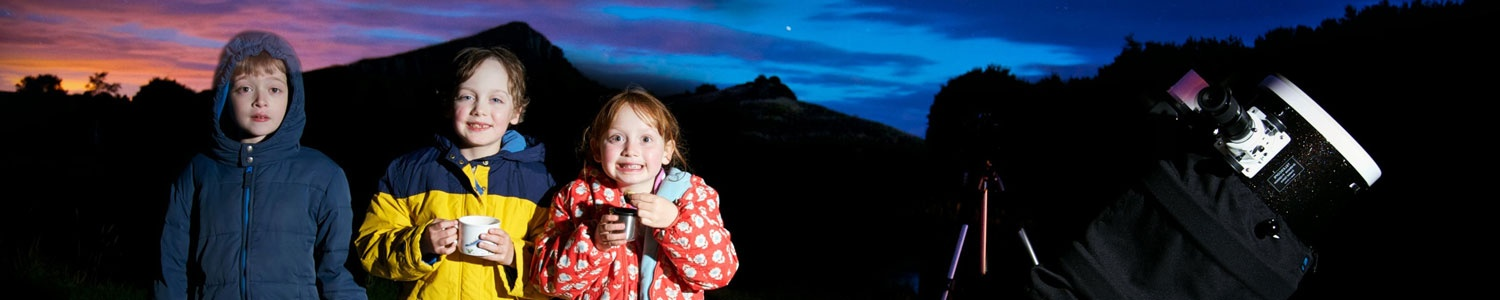 Stargazing Events in Northumberland