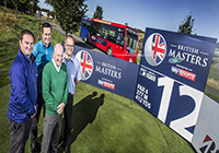 All aboard for Go North East with British Masters partnership