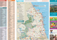 Ausflugsbroschüre – Karte
