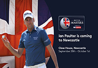 Ian Poulter set for British Masters at Close House